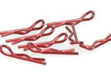 Small Body Clip 1/10 - Metallic Red (8)