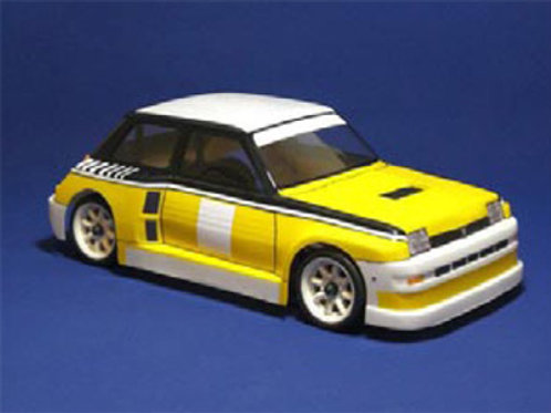 MT008002 - Montech Turbo 5 - 1/10 Body for Tamiya Mini
