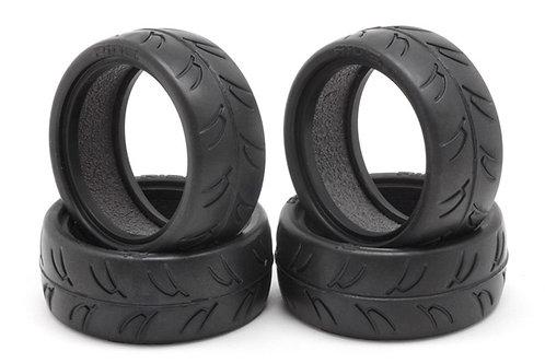 Ride 1/10 Slick Type Tire Precut 24mm with LT Inner Set