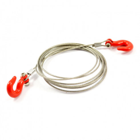 FASTRAX METAL HOOK & STEEL WIRE ROPE SET 1100MM - FAST2322R