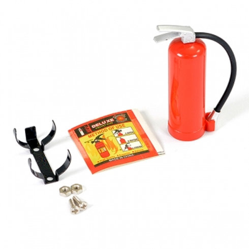 FASTRAX 1/10 DUMMY FIRE EXTINGUISHER & ALLOY MOUNT - FAST2325R