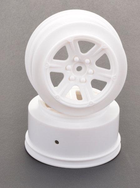 U4732 - Short Course Wheel - White +3 offset pr