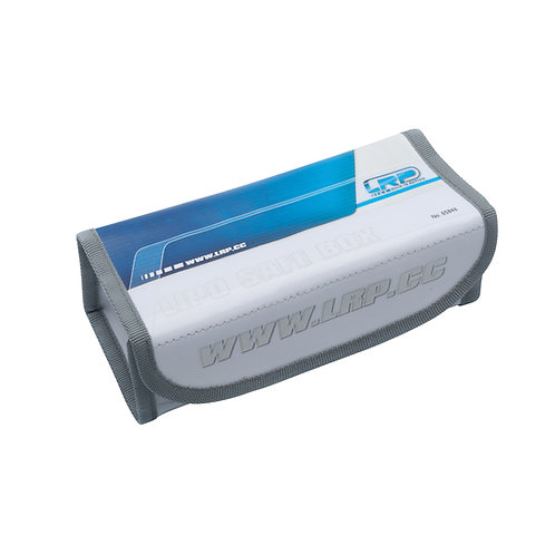 LRP LIPO SAFE BOX - LARGE 18 X 8 X 6CM - RP65848