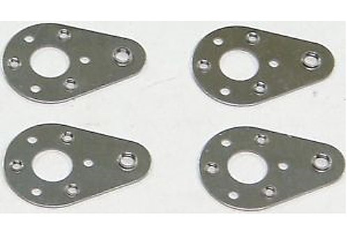 Tamiya Ball Plate -4pcs (Hot Shot) - 9805123