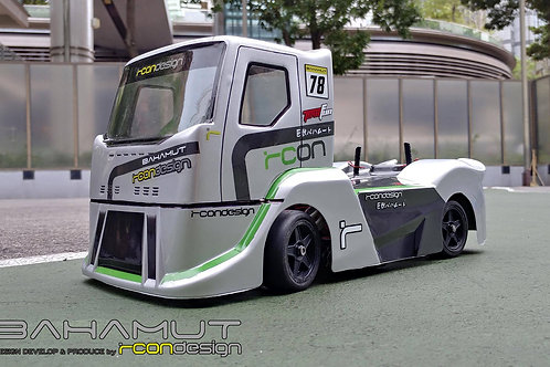Rcon Bahamut M-Chassis Clear Lexan Truck Body