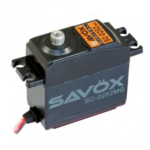 SAVOX STD SIZE DIGITAL SERVO METAL GEAR 10.5KG@6V - SC-0252MG
