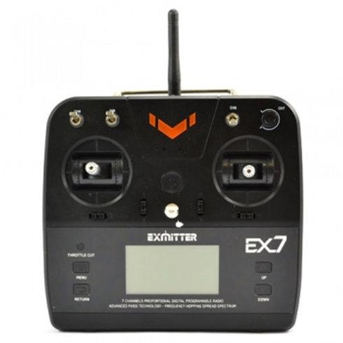 VOLANTEX EXMITTER 7-CHANNEL RADIO w/LCD SCREEN / Receiver - EX7