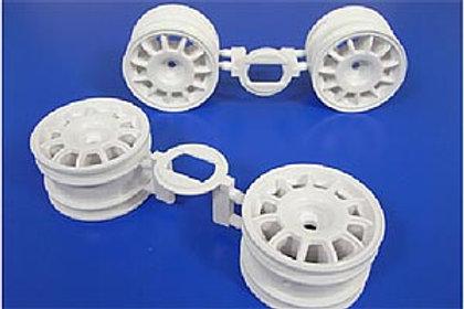 Tamiya M-Chassis 11 Spoke Racing Wheel (4pcs/White) 51394