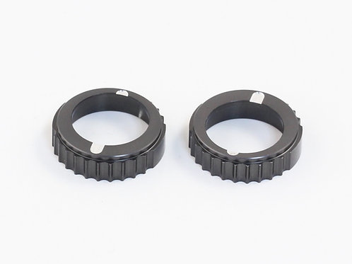 DESTINY RX-10S / FF ALUMINIUM ADJUSTMENT BALL BEARING HUB 2PCS
