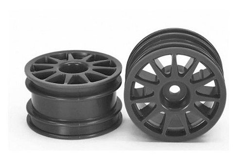 TAMIYA M-CHASSIS 11 SPOKE WHEEL (BLACK/4PCS) - 51665