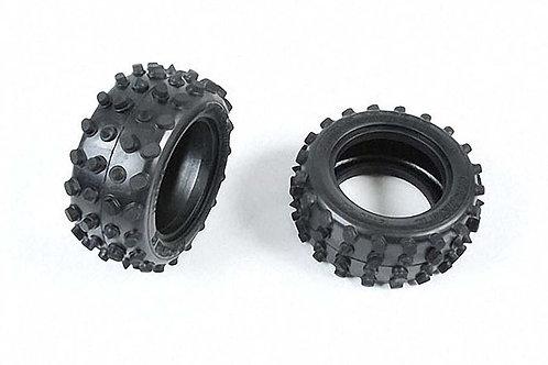 Tamiya Rear Tires (1pr) For Hotshot - 9805111