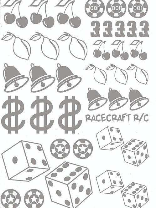 Paint Mask- Gambler