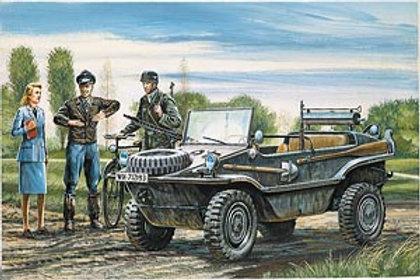 "Italeri 1/35 Kfz.II VW Typ 166 ""Schwimmwagen"" - 313"