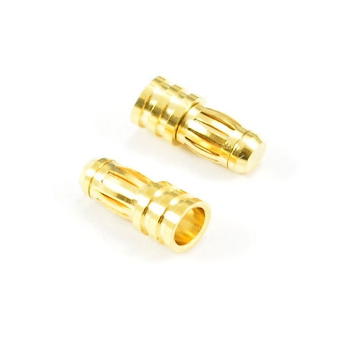 ETRONIX 5.0MM MALE GOLD CONNECTOR (2)