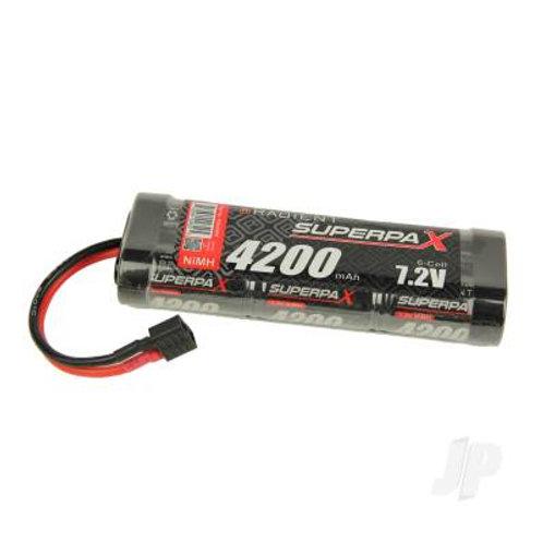 NiMH 7.2V 4000mAh SC Stick, Deans (HCT)