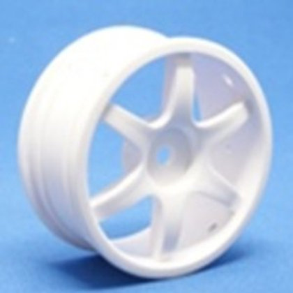 Ride 6 Spoke Nylon Wheel Set - White 4pcs