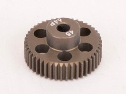 Pinion Gear 64DP 45T (7075 Hard)