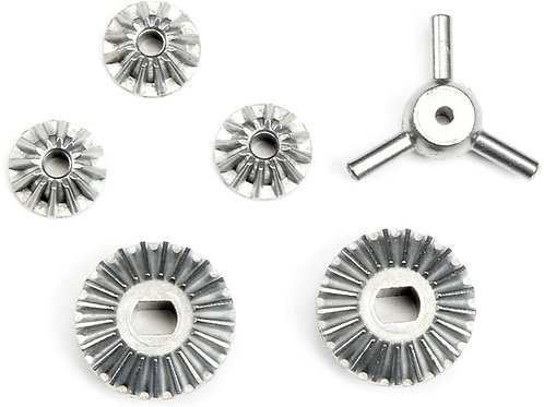 Tamiya 51008 Bevel Gear Set (TT-01,TGS) - 51008