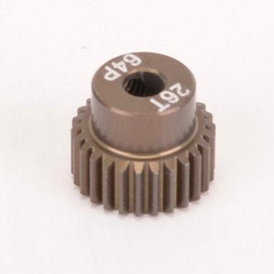 Pinion Gear 64DP 26T (7075 Hard)