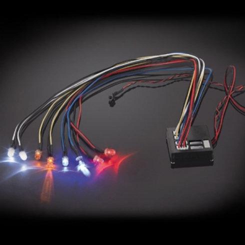 Fastrax Flashing Light Kit Multiple Functions 8-Led Light - FAST197