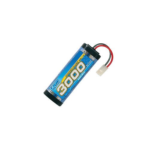 LRP POWER PACK 3000 NIMH STICK 7.2V-TAMIYA PLUG - LRP71115