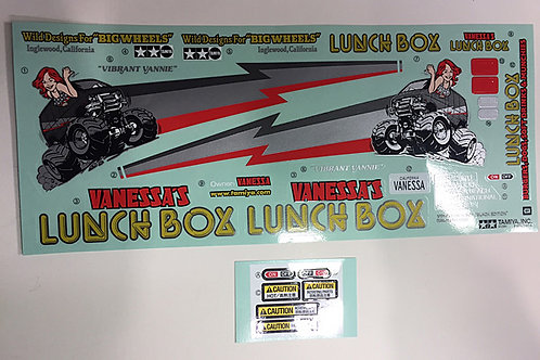 Sticker Set (Lunchbox Black Edition) - 9495756