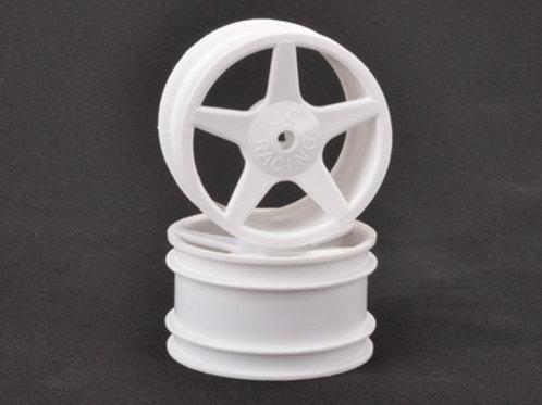 CR681 - JC 5 Spoke Rear White Wheel XLS pr