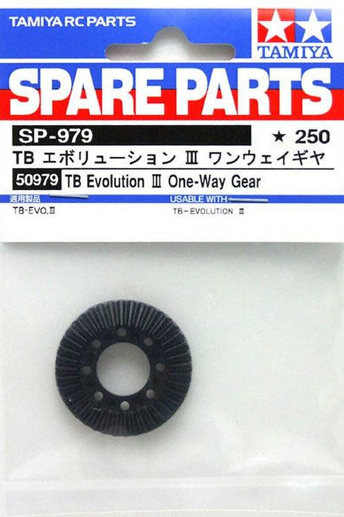 Tamiya TB Evolution III One-Way Gear - 50979