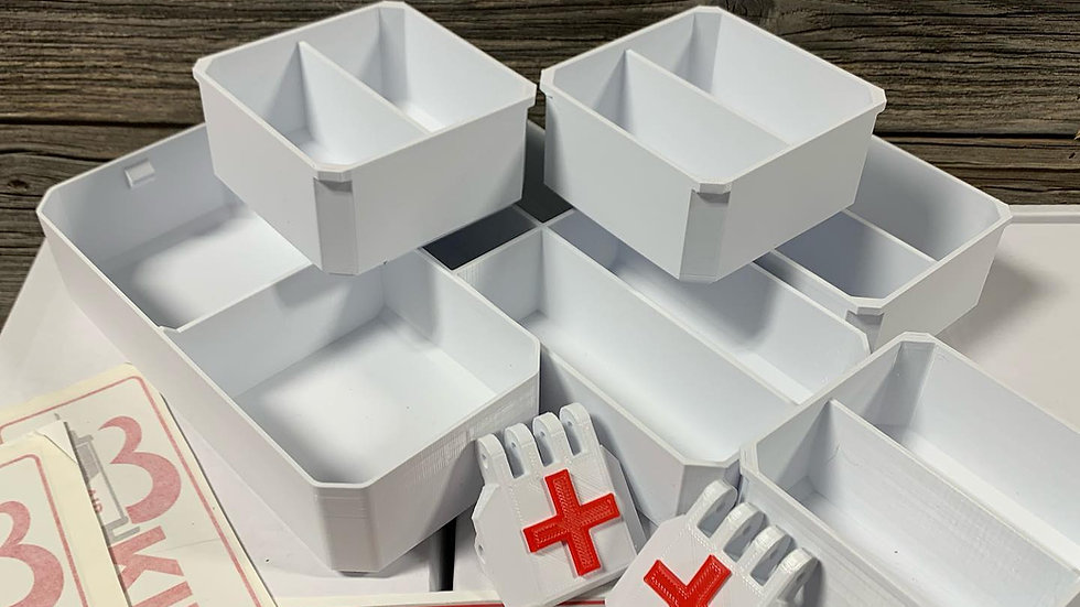 Full Size DIY Packout First Aid
