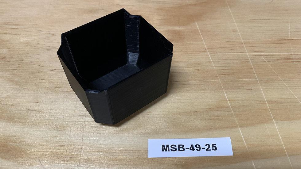 Square Low Profile Center Bin