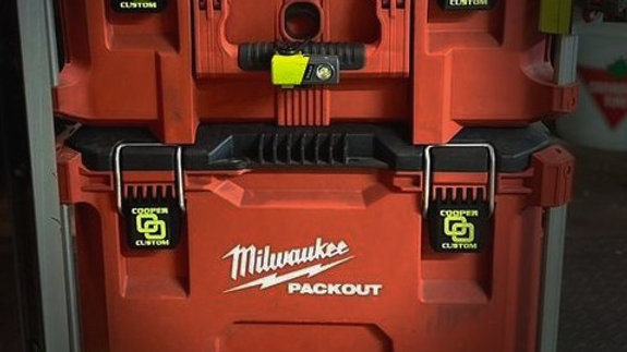 Personalized Rail Box Packout Latches