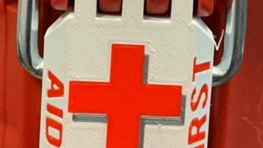 Half Width First Aid Latch Set