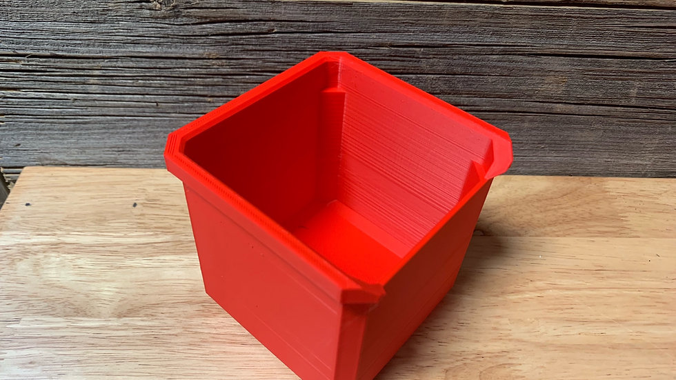 Standard Packout Square Notched Bin