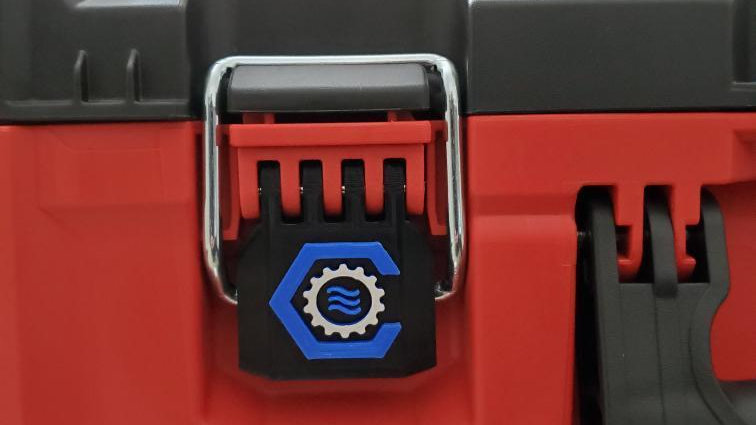 Personalized Full Width Packout Latch