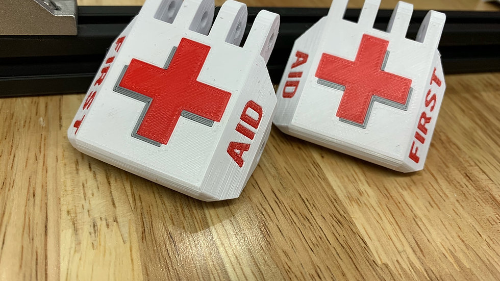 Full Size First Aid Latch Set