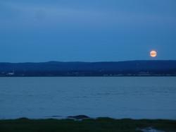 Lune sur le Cap