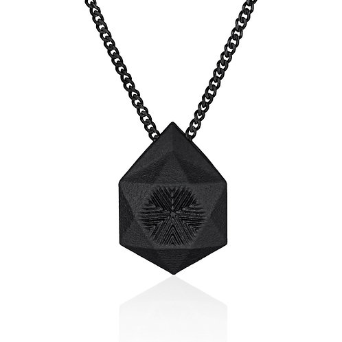BLACK STAR pendant