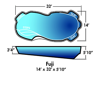 Aqua-SplashPools.com - Pool Style - Fuji