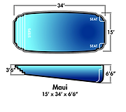 Aqua-SplashPools.com - Pool Style - Maui