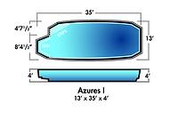 Aqua-SplashPools.com - Pool Style - Azur