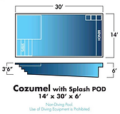 AquaWavePools.com - Pool Style - Cozumel