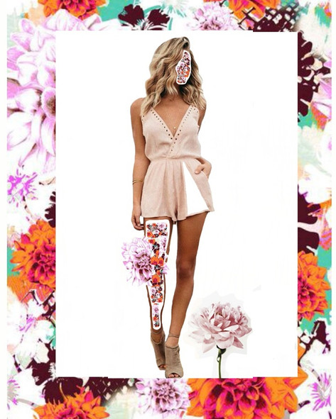 fashion collage (digital)