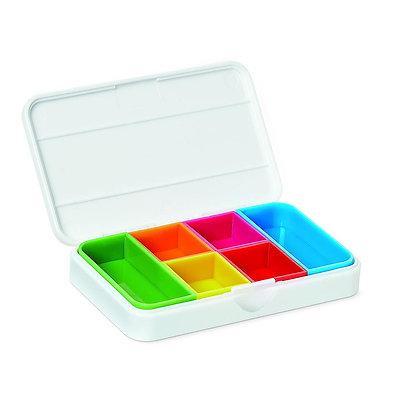 Smart pill box - small white