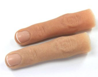 Silicone Finger Prosthesis