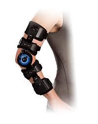 Elbow orthosis- excluding hinges