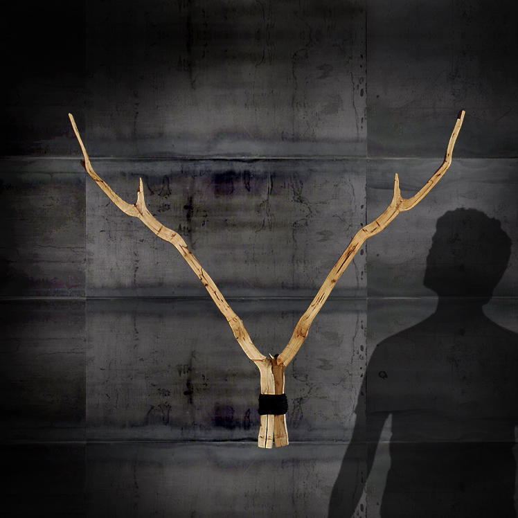 Oh Deer-2  80x80cm SOLD
