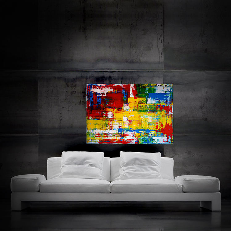 abstract0713 100x70cm SOLD