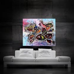 fisheye 120x100cm