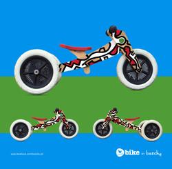 Wishbone Bike artwork by bosche