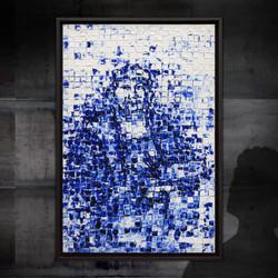 Portret van een begenadigd schilder